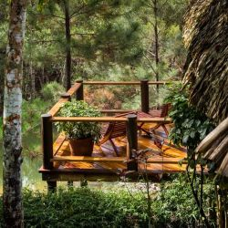 El impresionante Blancaneaux Lodge, ubicado en medio de la reserva forestal de Mountain Pine Ridge, en Belice.