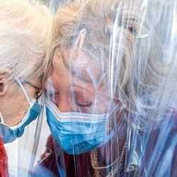 Aislamiento en pandemia de coronavirus. | Foto:AFP