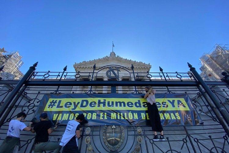 Como cierre de la #SemanaPorLosHumedales, diversas organizaciones buscan alcanzar el millón de firmas para la pronta sanción de una Ley de humedales