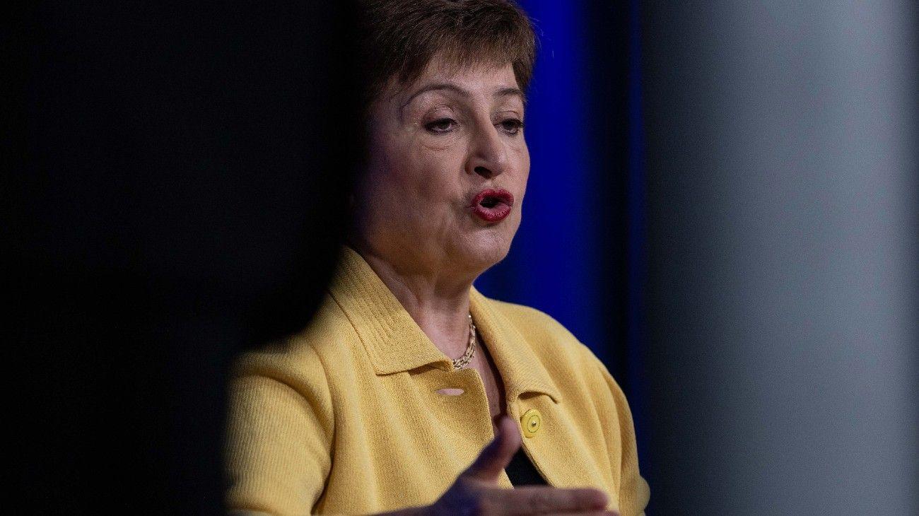 La directora gerenta del Fondo Monetario Internacional, Kristalina Georgieva.