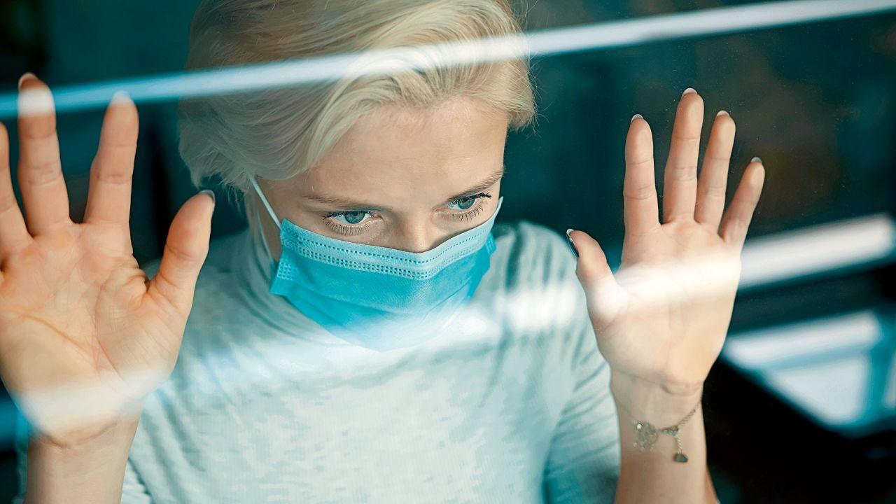 Los efectos de la pandemia en la salud mental. | Foto:DepositPhotos.