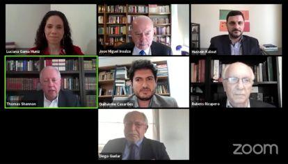 Videoconferencia de Thomas Shannon con representante de diferentes países en Centro Brasileño de Relaciones Internacionales (CEBRI)