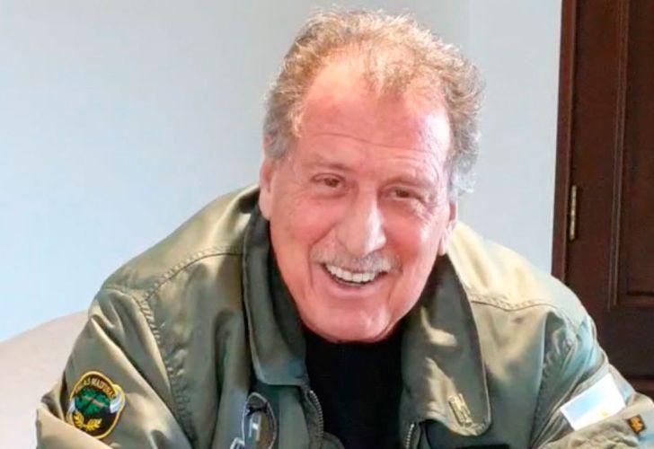 Fotos de archivo de Jorge Brito, fallecido en un accidente de helicóptero en Salta.