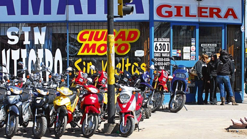 Créditos para motos: la llave oficial