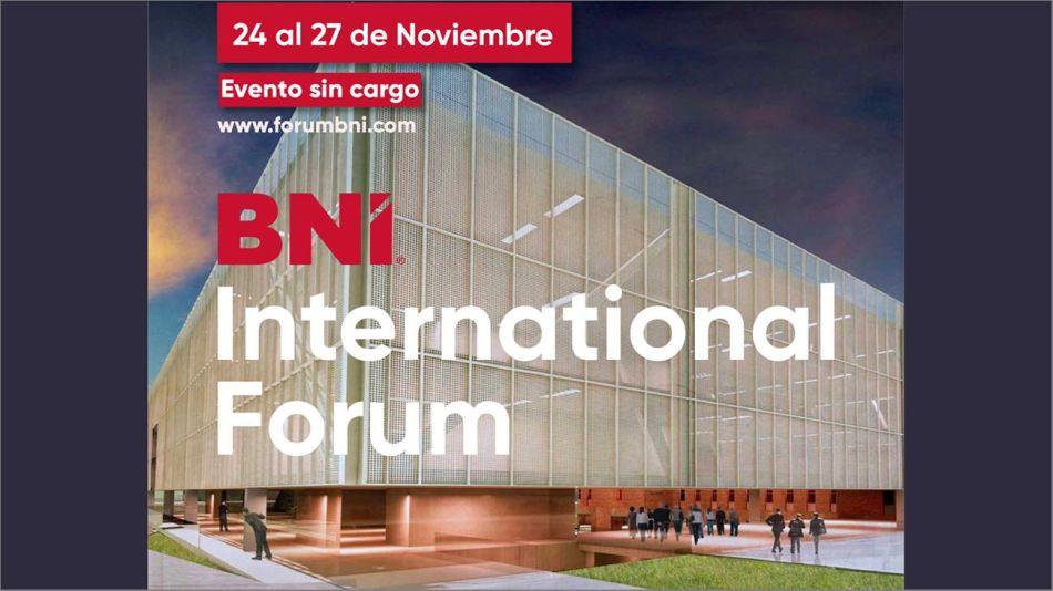 Foro Internacional BNI 20201120