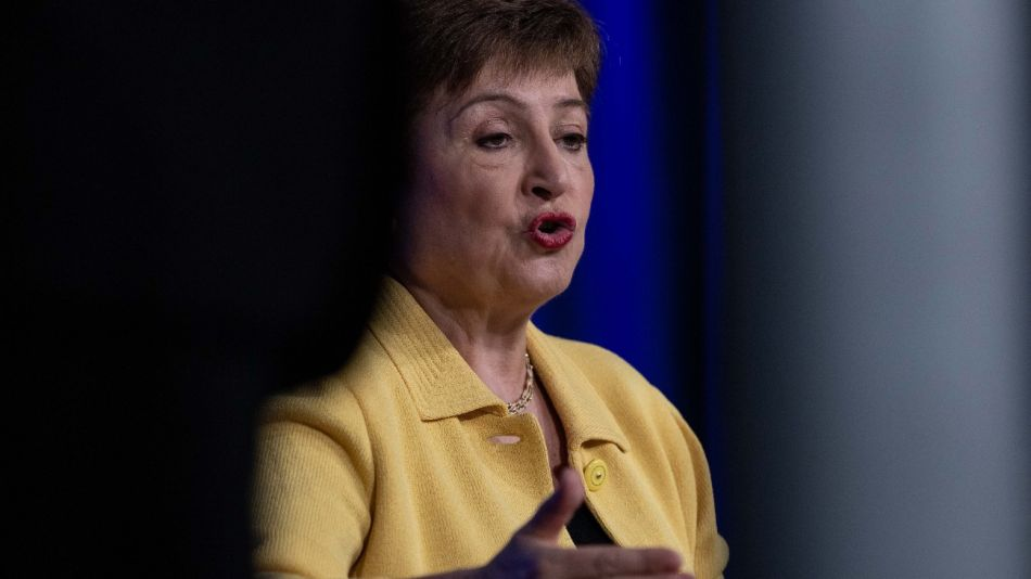 La directora gerenta del Fondo Monetario Internacional, Kristalina Georgieva,