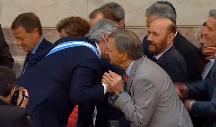 CERCA. Alberto F. y Schiaretti tejen la posibilidad de un acuerdo electoral en 2021.