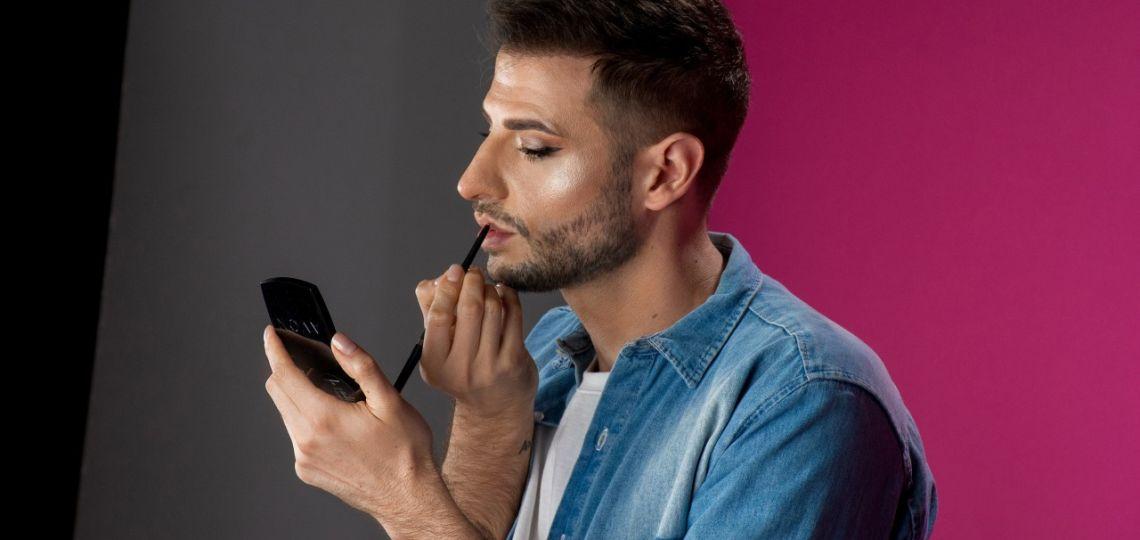 """Agus Gelfo: """"El maquillaje no es solo para mujeres, adornarse y ser unx mismx es para todxs"""""""