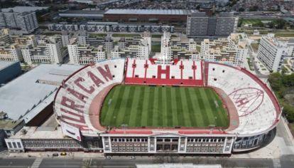 Así se ve el estadio de Huracán desde un dron