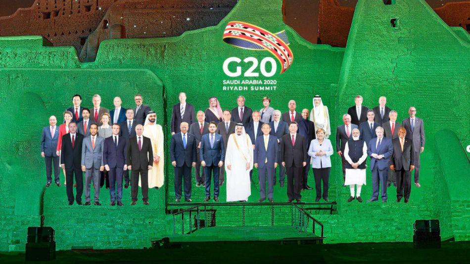 Alberto Fernández participó del G20 por streaming.