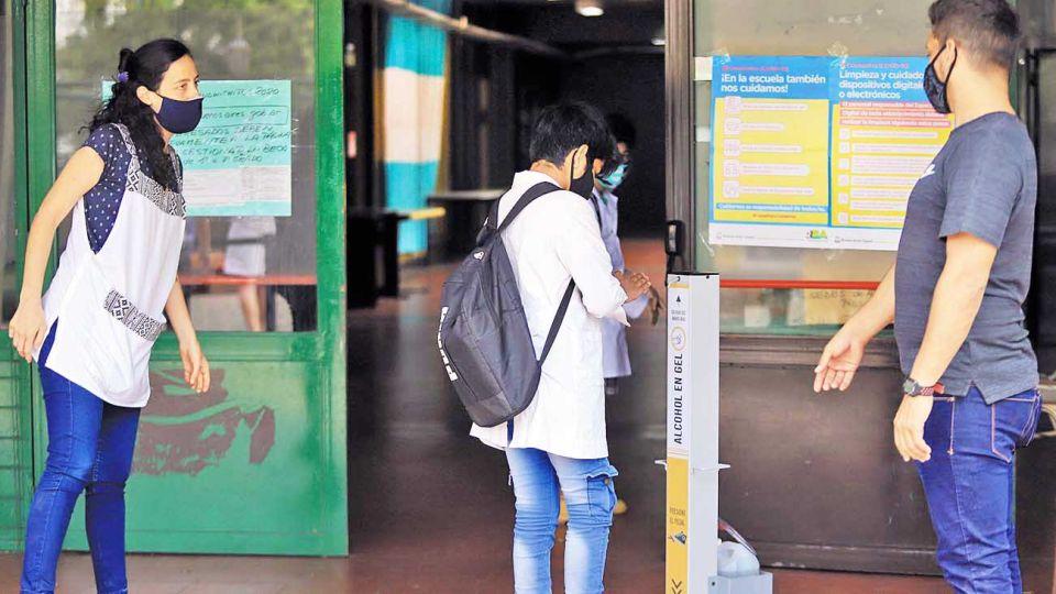Puertas abiertas. En la Ciudad de Buenos Aires, esta semana retomaron todos los niveles.