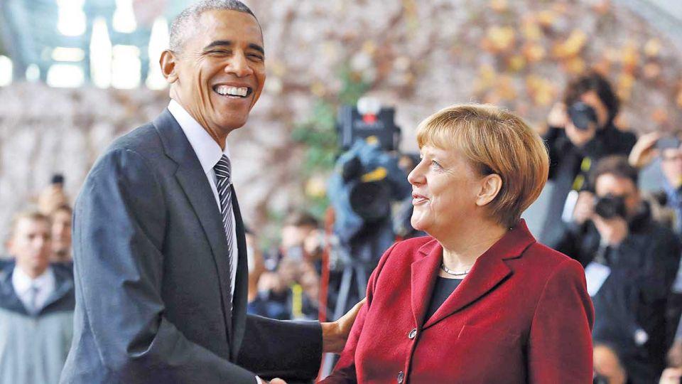 Contraste. Obama la elogia con cariño en sus memorias. Con Trump las cosas fueron diferentes.