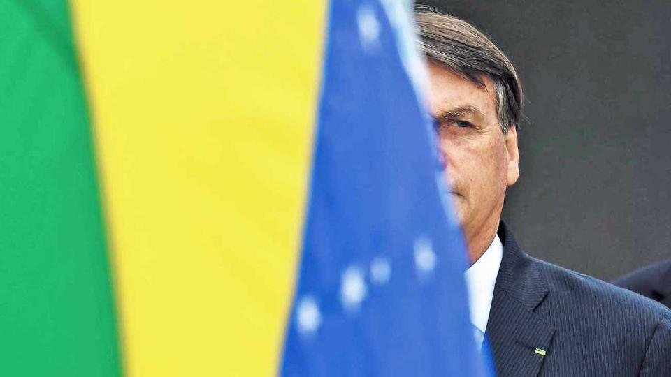 Silencio de radio. El brasileño aún no felicitó al presidente electo de Estados Unidos.