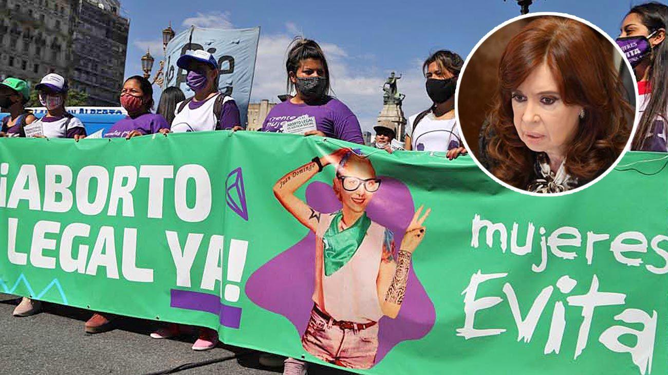 """Definición. En caso de un posible empate, Cristina tendría que definir. En 2018, votó con los """"verdes""""."""
