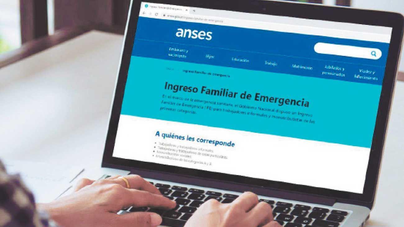 Ife. El auxilio de emergencia llegó a todo tipo de hogares, y benefició a los sin ingresos.