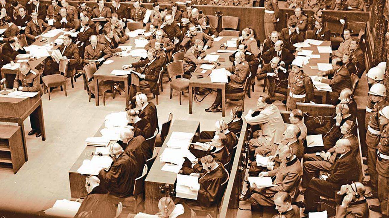 Proceso. En Nüremberg recibieron pena de muerte once jerarcas nazis y uno a cadena perpetua.