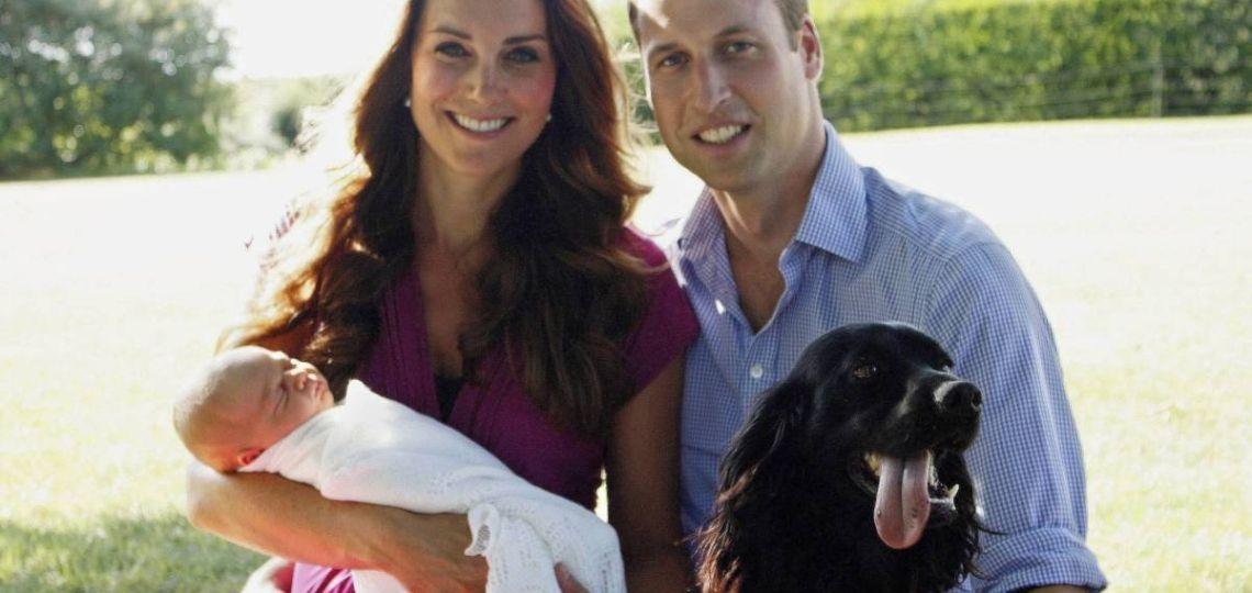 """Con """"mucha tristeza"""" Kate Middleton y el príncipe William despidieron a su perro Lupo"""