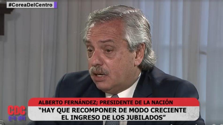 Alberto Fernández Corea del Centro 2