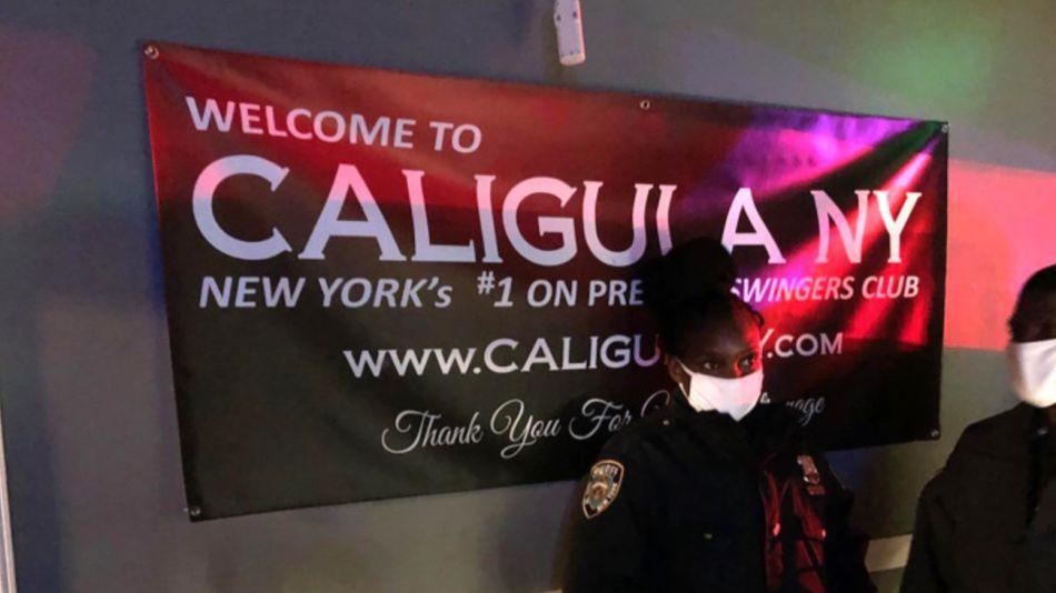 Fiesta de Swingers en Club Caligula de Nueva York 1