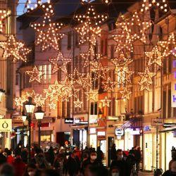 La luces de navidad ya se prendieron en las principales ciudades de Alemania.