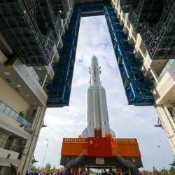 El despegue se realizó desde el Centro de Lanzamiento de Satélites Wenchang de China.