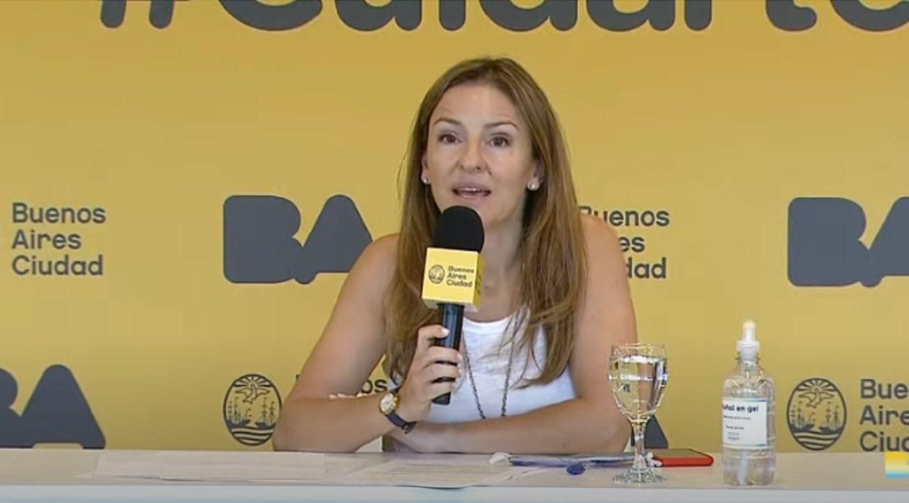 Sol Acuña, ministra de Educación porteño