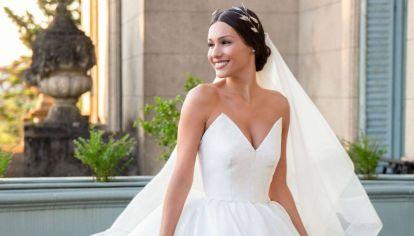 Pampita vestido de boda