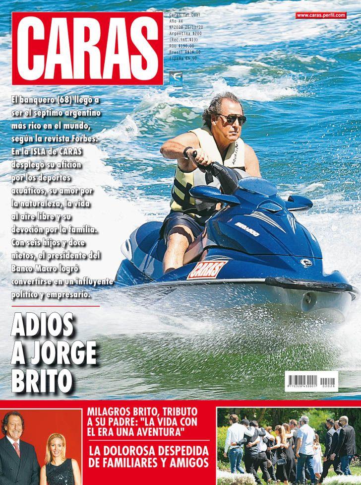ADIÓS A JORGE BRITO