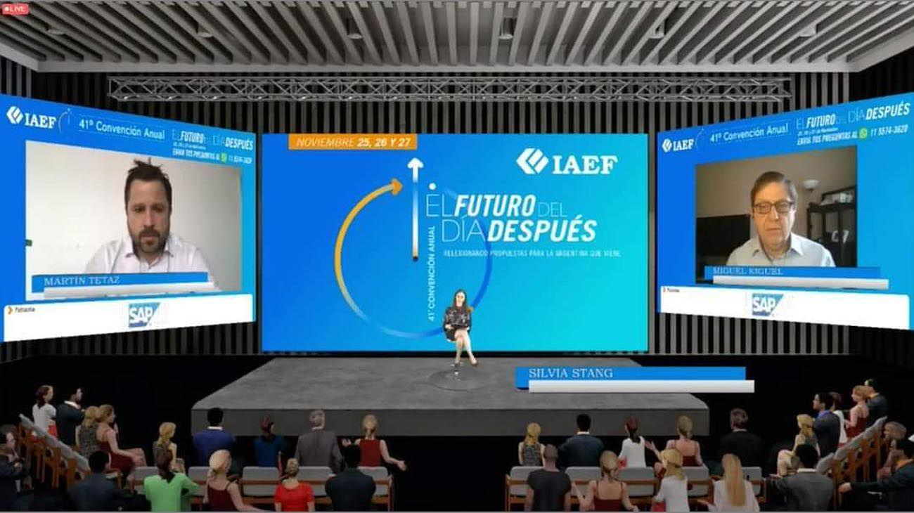 Martín Tetaz y Miguel Kiguel analizaron el panorama local e internacional en la 41° Convención Anual de IAEF,