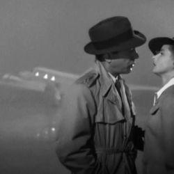 Ingrid Bergman y Humphrey Bogart en Casablanca