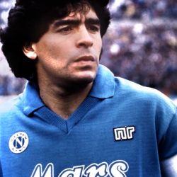 Maradona en Napoli