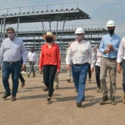 Recorrida por el nuevo Mercado Agroganadero de Cañuelas