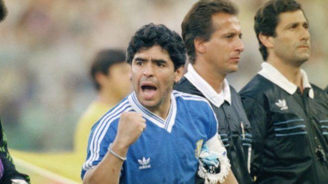 Maradona Italia 90