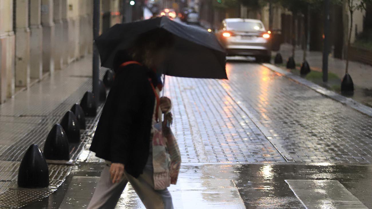 Pronostican lluvias hasta al menos el lunes.