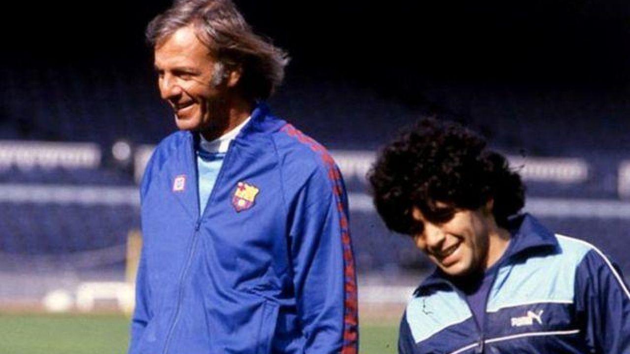 Menotti con Maradona | Foto:Cedoc