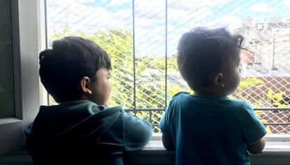 Niños en cuarentena