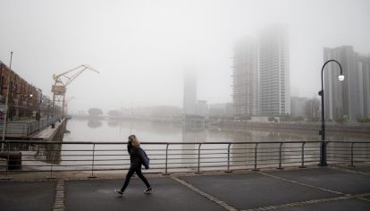 """El SMN emitió un alerta por """"tormentas fuertes"""" que se viene actualizando desde la tarde del martes."""