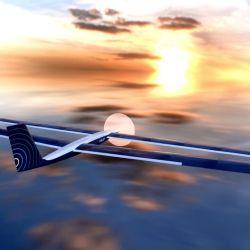 El dron SolarXOne está equipado con placas solares en la parte superior, que alimentan su sistema de propulsión.