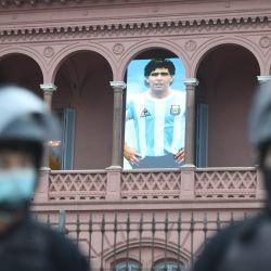Velatorio de Diego Armando Maradona | Foto:Fernando Gens / DPA
