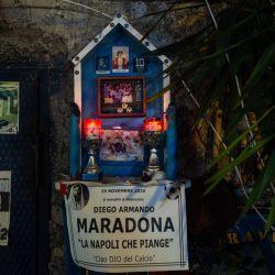 Santuario en Quartieri Spagnoli, Nápoles