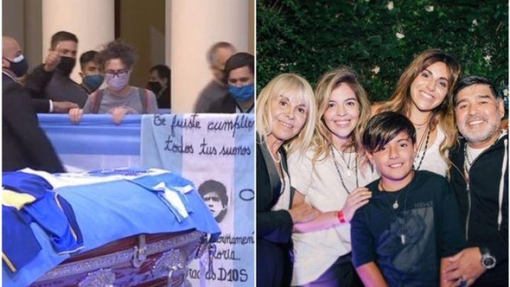 Máxima tensión: piden extender el velorio de Diego Maradona pero su familia se niega