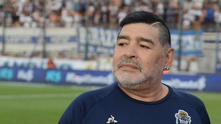 Salieron a la luz las últimas imágenes de Diego Maradona con vida