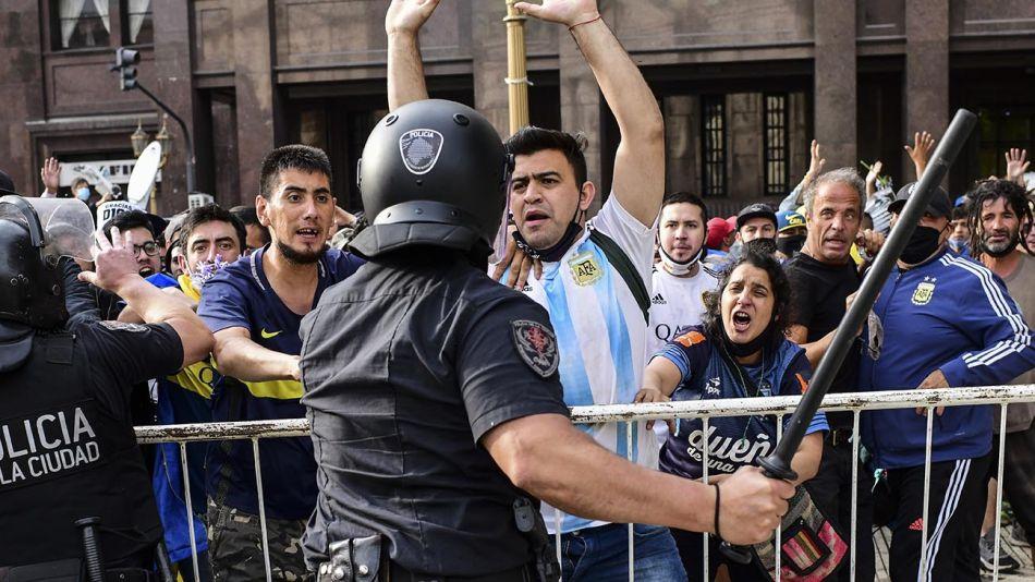 disturbios en el velorio 20201126