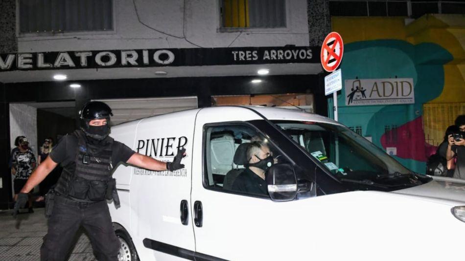 Maradona Traslado Velatorio