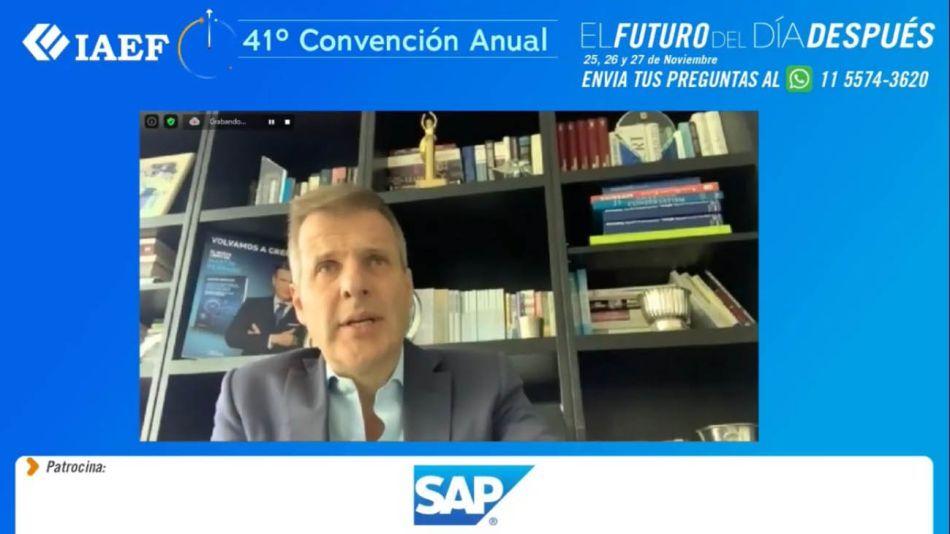 Martín Redrado en la 41° Jornada Anual de IAEF 20201126