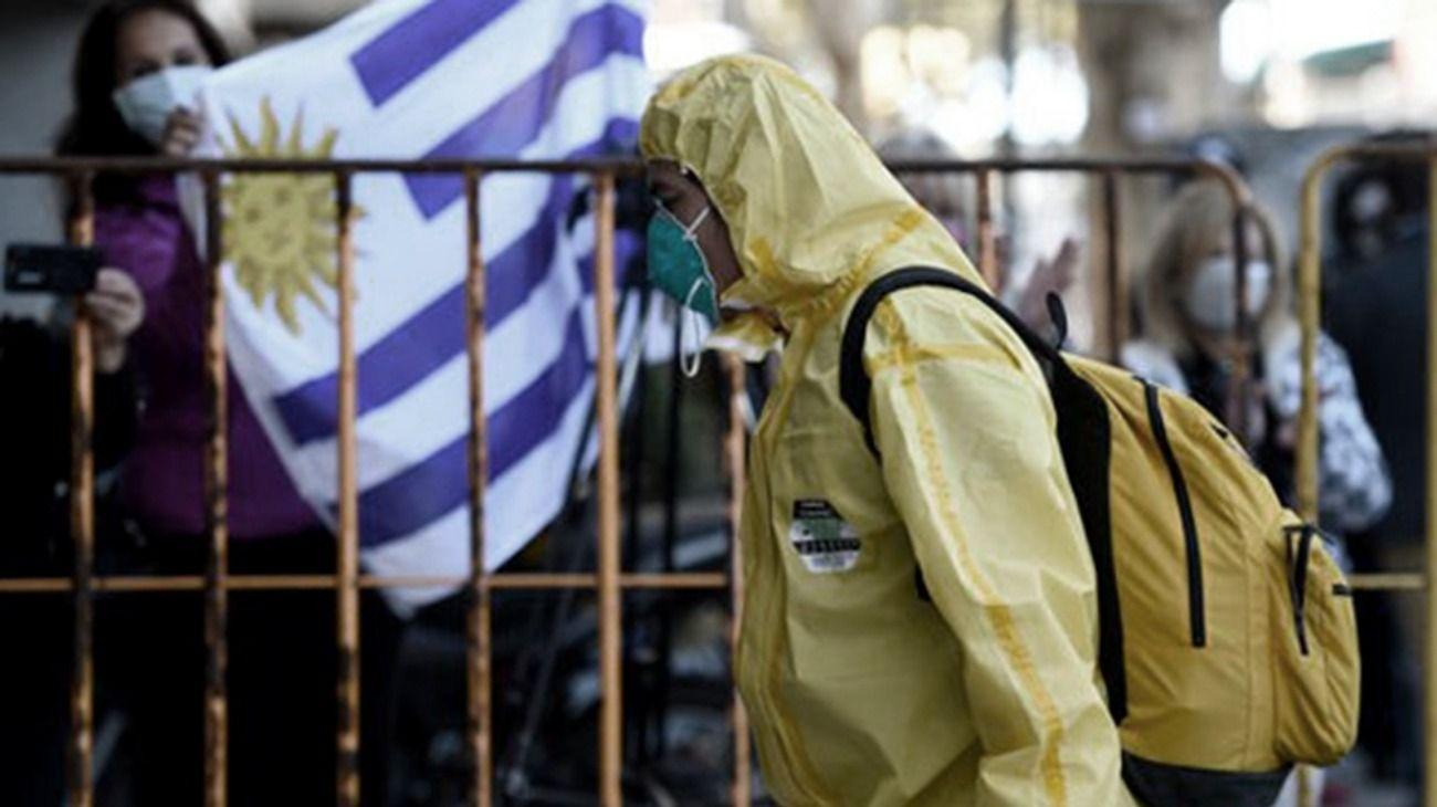Uruguay, uno de los países menos afectado por la pandemia.
