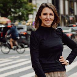 Valentina vive con sus dos hijos y su marido en Nueva York hace más de una década.