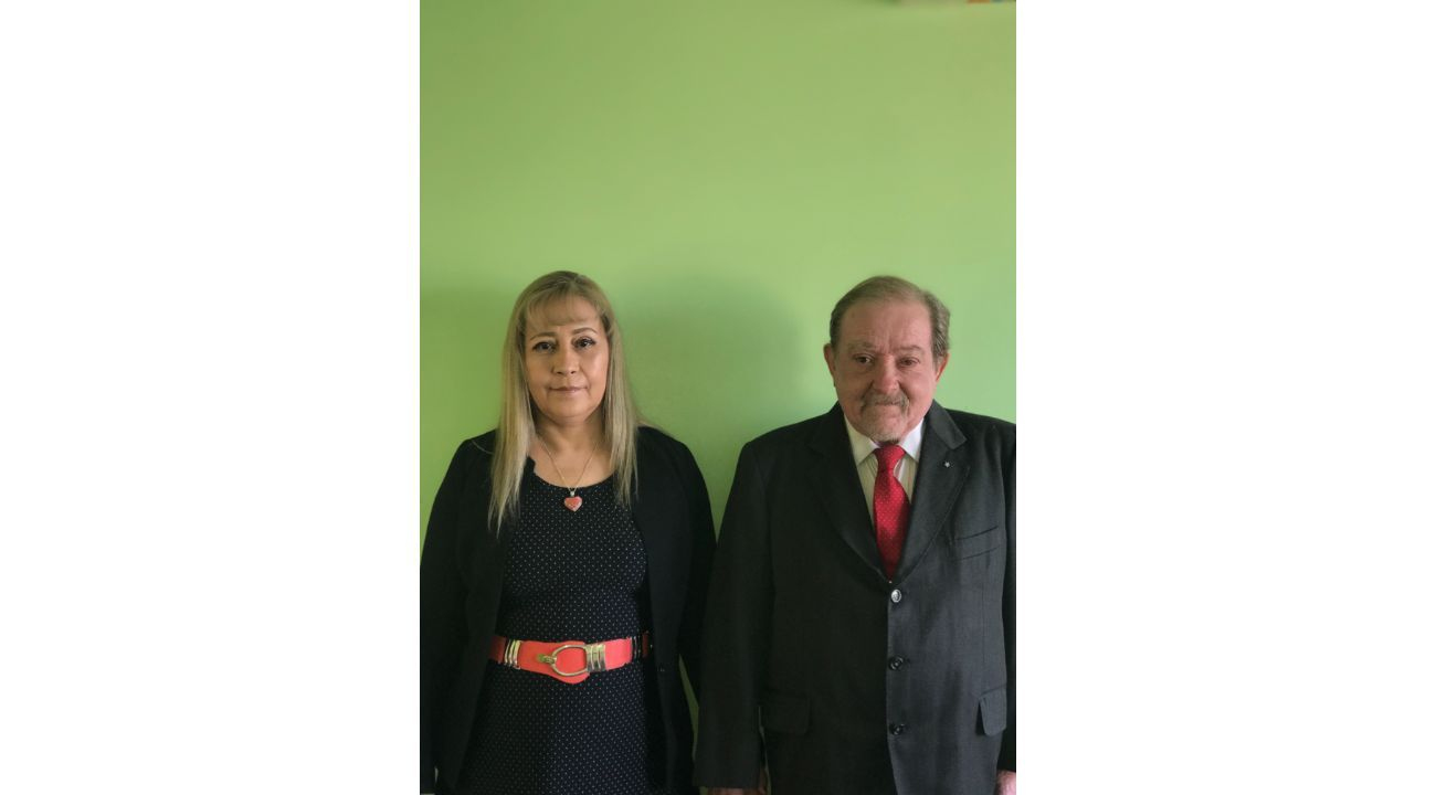 Dra. Francisca Leguizamón y Dr. Lopez Delgado