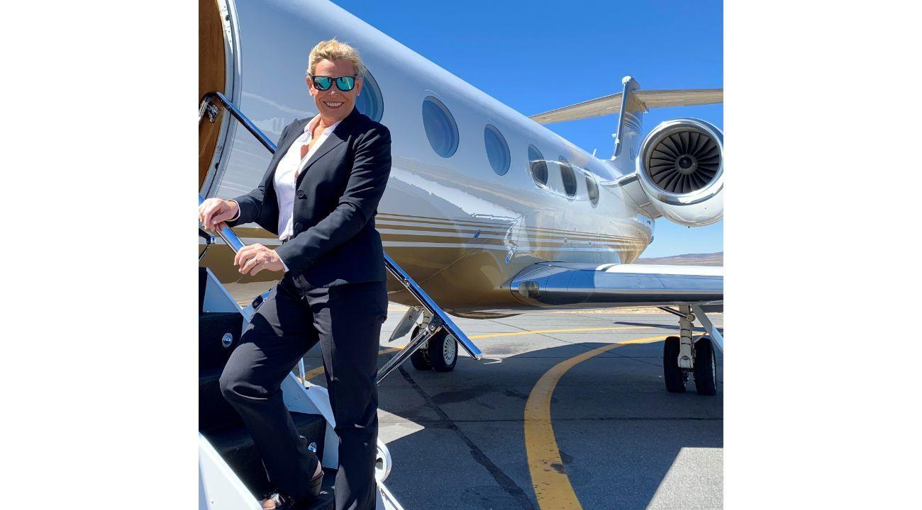 Jaquie Lowndes, CEO de JAG Executive Aviation