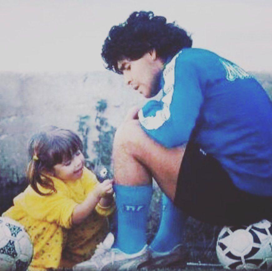 """La publicación de Dalma Maradona tras la muerte de Diego: """"Te voy a amar y defender toda mi vida"""""""